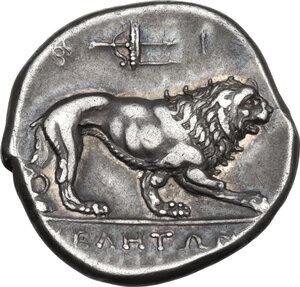 reverse: Northern Lucania, Velia. AR Didrachm, c. 300-280 BC