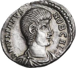 obverse: Julian II as Caesar (355-360). AR Siliqua, Arelate mint