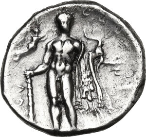 reverse: Southern Lucania, Heraclea. AR stater, c.330-325 BC