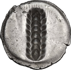 reverse: Southern Lucania, Metapontum. AR Nomos, c. 540-510 BC