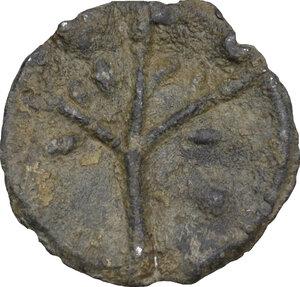 reverse: Tessera plumbea