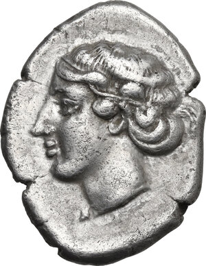 obverse: Southern Lucania, Metapontum. AR Nomos, c. 430-400 BC