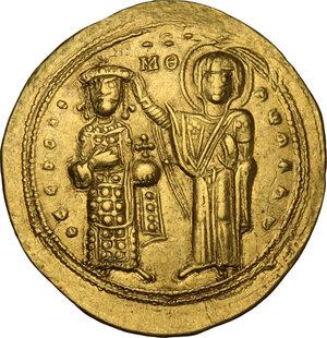obverse: Romanus III, Argyrus (1028-1034).. AV Histamenon Nomisma, Constantinople mint