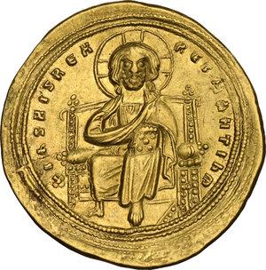 reverse: Romanus III, Argyrus (1028-1034).. AV Histamenon Nomisma, Constantinople mint