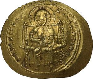 obverse: Constantine X Ducas (1059-1067).. AV Histamenon Nomisma. Constantinople mint. Struck 1062-1065