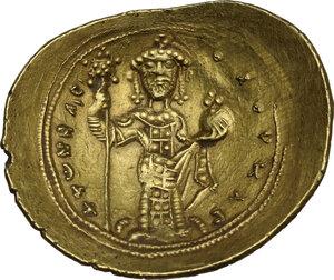 reverse: Constantine X Ducas (1059-1067).. AV Histamenon Nomisma. Constantinople mint. Struck 1062-1065