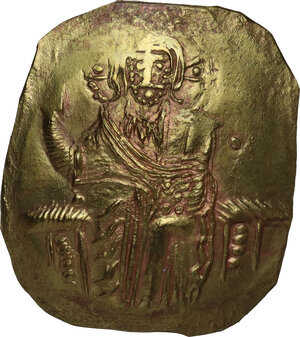 obverse: The Empire of Nicaea. John III, Ducas (1222-1254).. AV Hyperpyron, Magnesia mint, circa 1232-1254