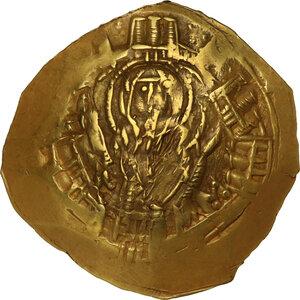 obverse: Andronicus II Palaeologus, with Michael IX (1295-1320).. AV Hyperpyron Nomisma, Constantinople mint, c. 1303-1320