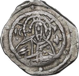 obverse: John VIII Palaeologus (1423-1448).. AR Quarter Hyperpyron, Constantinople mint