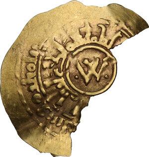 obverse: Amalfi.  Guglielmo II (1166-1189).. Tarì, 1167-1168