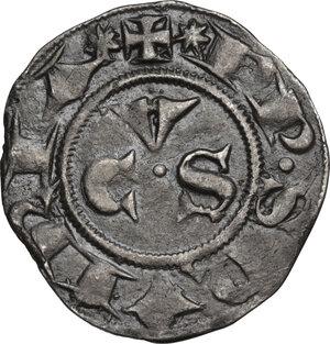 reverse: Ancona.  Repubblica Autonoma (Sec. XIII-XV). Grosso da 20 denari detto