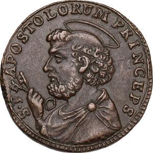 reverse: Ancona.  Pio VI (1775-1799), Giovanni Angelo Braschi. Sampietrino da 2 e mezzo baiocchi 1796