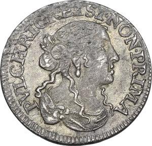 obverse: Arquata.  Luigini anonimi per il Levante. Luigino 1668