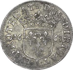 reverse: Arquata.  Luigini anonimi per il Levante. Luigino 1668