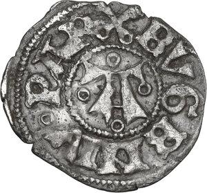 obverse: Ascoli.  Eugenio IV (1431-1438), Gabriele Condulmer. Bolognino