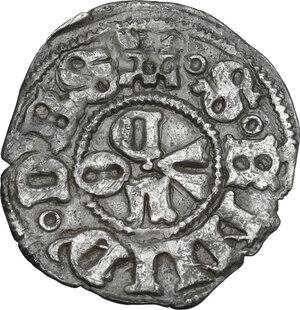 reverse: Ascoli.  Eugenio IV (1431-1438), Gabriele Condulmer. Bolognino