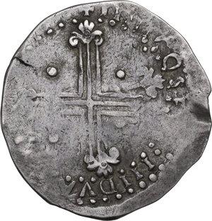 reverse: Cagliari.  Filippo II di Spagna (1556-1598).. Da 10 Reali