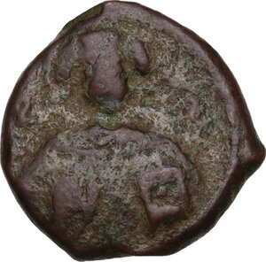 obverse: Capua.  Ruggero II (1105-1154). Follaro, 1135-1137