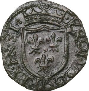 obverse: Chieti.  Carlo VIII re di Francia (1495). Cavallo