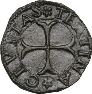 reverse: Chieti.  Carlo VIII re di Francia (1495). Cavallo
