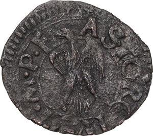 obverse: Faenza.  Astorgio II Manfredi (1448-1468). Denaro