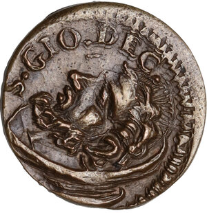 obverse: Faenza.  Opera Pia di S. Giovanni Decollato (XVI sec.). Tessera di carità, pimavera (Marzo, Aprile, Maggio)