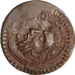 obverse: Faenza.  Opera Pia di S. Giovanni Decollato (XVI sec.). Tessera di carità, autunno (Settembre, Ottobre, Novembre)