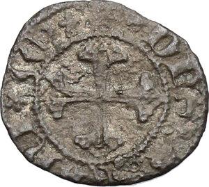 reverse: Fano.  Pandolfo Malatesta (1384-1427).. Picciolo