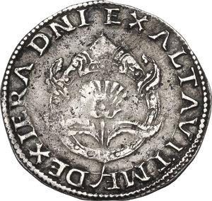 obverse: Ferrara.  Alfonso II d Este (1559-1597). Diamante