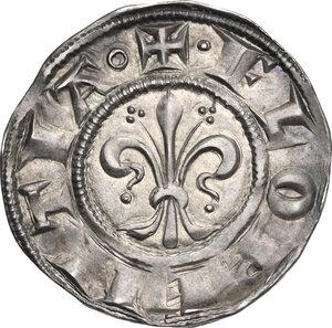 obverse: Firenze.  Repubblica (sec. XIII-1532).. Fiorino di stella da 12 denari o 1 soldo, III serie 1267-1279