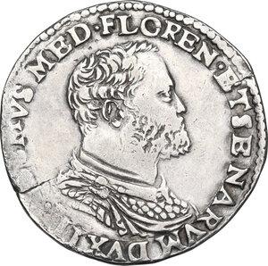 obverse: Firenze.  Cosimo I de  Medici (1537-1574). Testone s.d