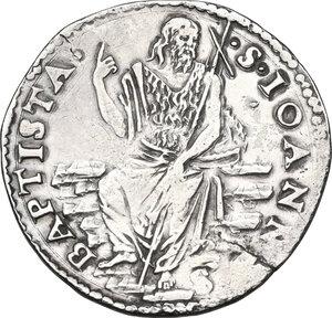 reverse: Firenze.  Cosimo I de  Medici (1537-1574). Testone s.d