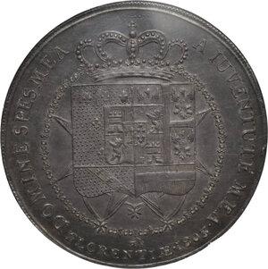 reverse: Firenze.  Carlo I di Borbone e Maria Luigia Reggente (1803-1807). Dena o scudo da 10 lire fiorentine 1803