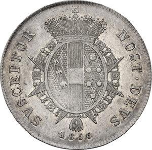 reverse: Firenze.  Leopoldo II di Lorena (1824-1859). Paolo 1856