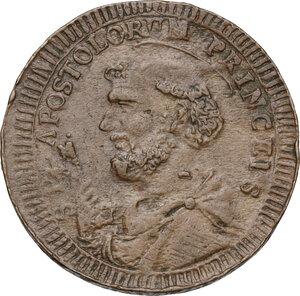 reverse: Foligno.  Pio VI (1775-1799), Giovanni Angelo Braschi. Sampietrino da due baiocchi e mezzo 1796