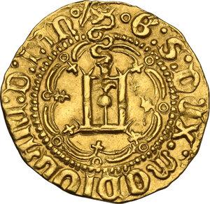 obverse: Genova. Galeazzo Maria Sforza (1466-1476). Ducato