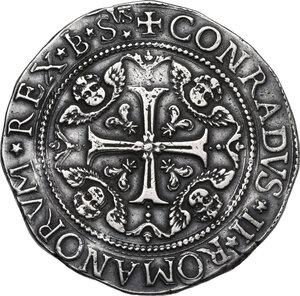 reverse: Genova.  Dogi Biennali (1528-1797), II fase (1541-1637).. Da due Scudi 1637, sigle IB SVS