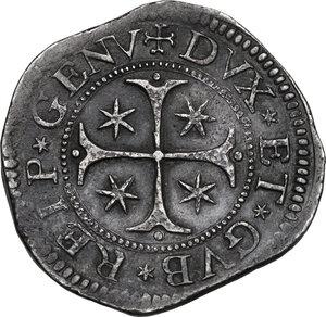 Genova.  Dogi Biennali (1528-1797), II fase (1541-1637).. Scudo largo 1692, sigle ITC