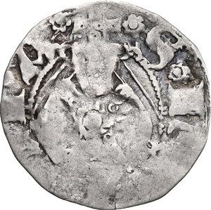 reverse: Guardiagrele.  Ladislao di Durazzo (1391-1414). Bolognino