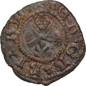 reverse: Gubbio.  Francesco Maria II della Rovere (1574-1624). Picciolo