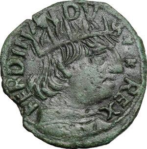 obverse: L Aquila.  Ferdinando I d Aragona (1458-1494). Cavallo, coniazione anteriore alla ribellione