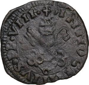 obverse: L Aquila.  Innocenzo VIII (1484-1492) Giovanni Battista Cybo. Cavallo