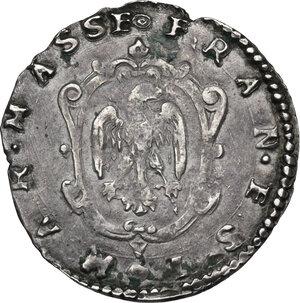 Massa Lombarda.  Francesco d Este (1550-1578). Mezzo giulio