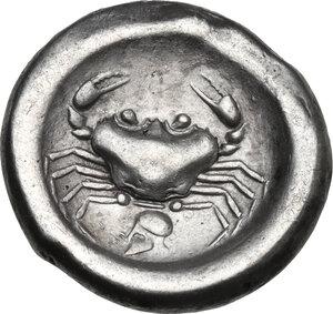 Akragas. AR Didrachm, c. 495-480/78 BC