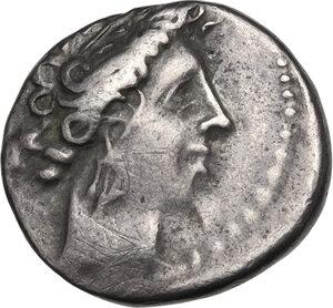 obverse: Southern Gaul, Insubres. AR Tetrobol, 1st century BC. Imitating Massalia