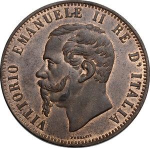 obverse: Vittorio Emanuele II  (1861-1878).. 10 centesimi 1866 Birmingham