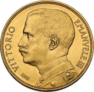 obverse: Vittorio Emanuele III (1900-1943). 50 lire 1912