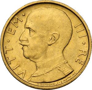 obverse: Vittorio Emanuele III (1900-1943). 50 lire 1931 A. X