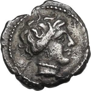 obverse: Cisalpine Gaul.  The Cenomani.. AR Obol, c.100-75 BC