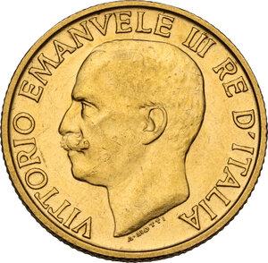 obverse: Vittorio Emanuele III (1900-1943). 20 lire 1923